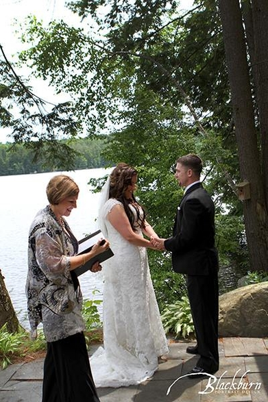 Saratoga Wedding Officiant - Rev. Joy Burke